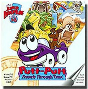 Putt-Putt-Travels-Through-Time-Humongous-Entertainment-New-in-Jewel-Case