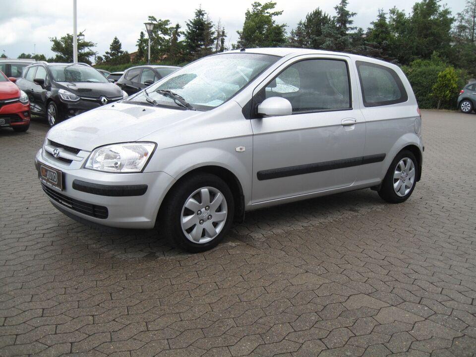 Hyundai Getz 1,1 GL Benzin modelår 2003 km 126000 Sølvmetal