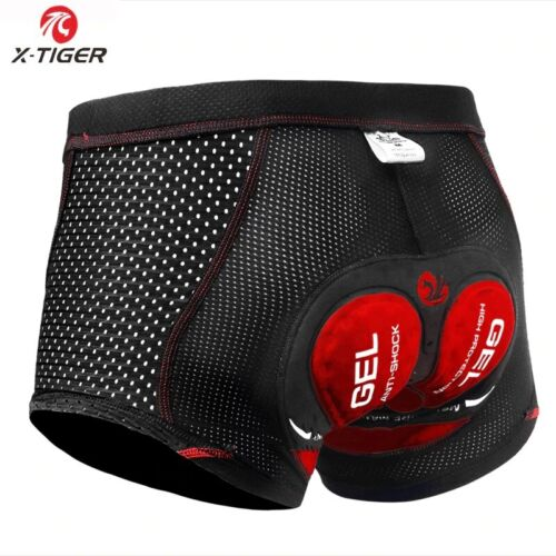 X-Tiger 2020 Upgrade Cycling Shorts Cycling Underwear Pro 5D Gel Pad Shockproof