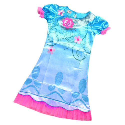 Trolls Poppy Cosplay Costumes Clothes Kids Party Holiday Birthday Dress #O28B