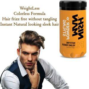 Nish Man Hair Styling Powder Light Control Mattifying Volume Powder 20g Ebay