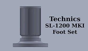 Technics-SL-1200-4-x-isolation-feet-foot-leg-base-SL1200-MK1-Turntable