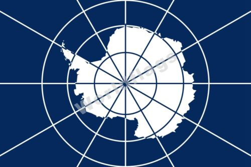 Antarctic Treaty Flag 3X2FT 5X3FT 6X4FT 8X5FT 100D Polyester Banner