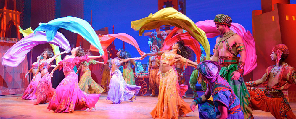 Aladdin The Musical Los Angeles