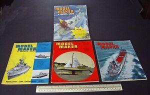 1962-Vintage-Model-Maker-Magazine-x-4-Ships-Cars-Yachts-Adverts-Engineering-6