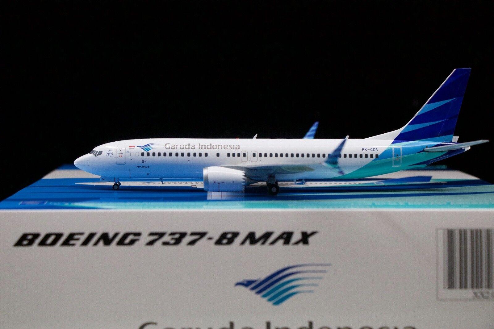 JC Wings 1 200 Garuda Indonesia 737 MAX8 PK-GDA