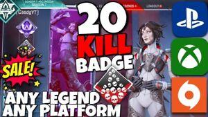 20-KILL-BADGE-SALE-BOOST-ANY-LEGEND-Apex-Legends-PS4-XBOX-PC-Wake-Badge