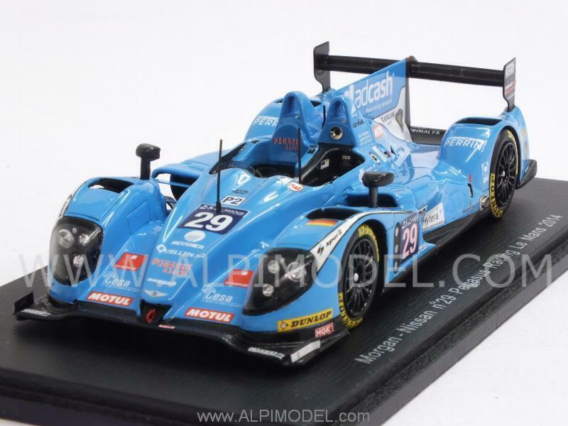 Morgan Nissan  Pegasus Racing Le Mans 2014 Schell - Leutwile 1 43 SPARK S4213  beaucoup de concessions