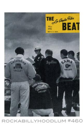 New Hot Rod Poster 11x17 Car Club jackets Los Angeles Police Beat Magazine art