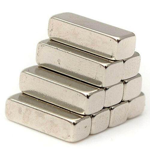 5x Strong Neodymium Block Magnets 10mm x 4mm x 4mm DIY Oblong Cuboid magnet