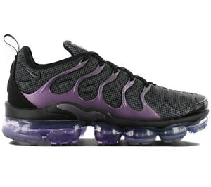 cheap for discount fd25a 9a664 Details about Nike Air Vapormax plus TN - Eggplant - 924453-014 Men's  Sneaker Shoes Black