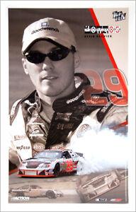 kevin harvick top ten 2003 29 goodwrench chevy monte carlo nascar racing poster ebay ebay