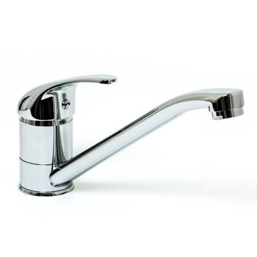 Spültischarmatur Küchenarmatur Chrom Standard Armatur S40-220 Wasserhahn Küche