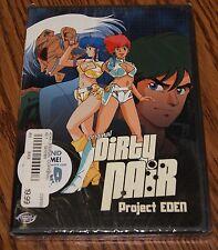 Original Dirty Pair - Project Eden (DVD, 2003) Animation ADV Films R1 Brand New