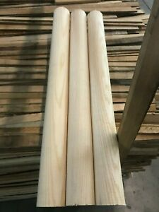 "*4 PACK* 17/"" *QUALITY* *KILN DRIED* White ASH Woodworking//Craft Dowels"