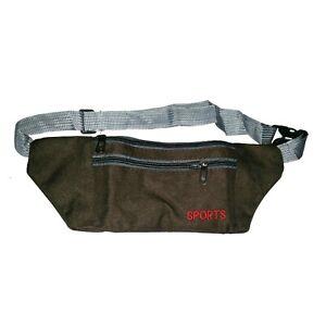 Bassi Porta Soldi Portamonete Bodybag Pancia Borsa da Cintura Portafogli