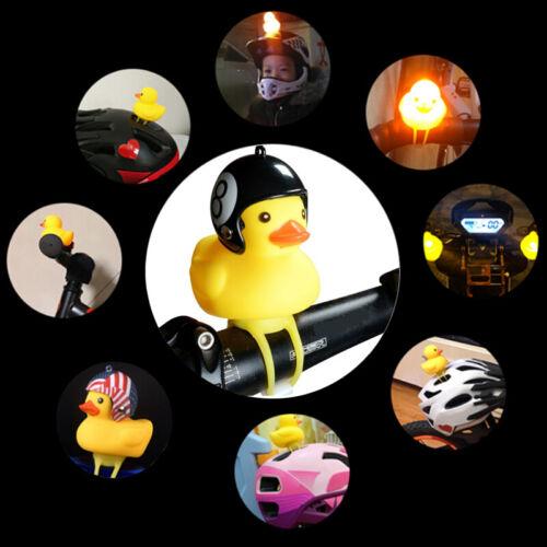 Zufällige Süße Kleine Gelbe Ente Fahrradklingel Motorradzubehör mit Helme BZJP