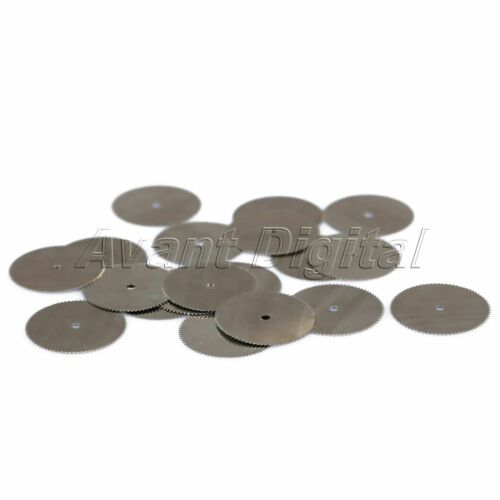 20pcs 25mm Steel Cutting Off Wood Saw Wheel Blade Discs for Power Rotary Tools