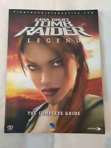 Tomb Raider Legends The Complete Guide Eidos Pc Xbox Ps2 Ebay