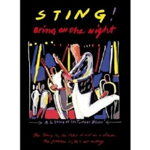 "STING ""BRING ON THE NIGHT"" 2 CD + DVD NEU"