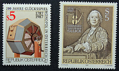 Yvert And N Tellier°1733 Et 1734 N Stamp Austria Imported From Abroad Austria Stamp cyn5