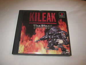 Kileak-The-Blood-Playstation-PS1-Import-Japan-VG