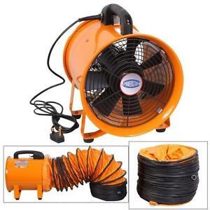 Portable Ventilator Axial Blower Workshop Extractor Fan 8