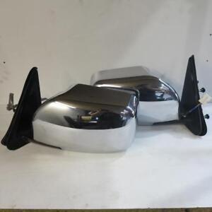 Details about Nissan Patrol GU Y61 Series 4 Chrome Mirror Pair Genuine Used