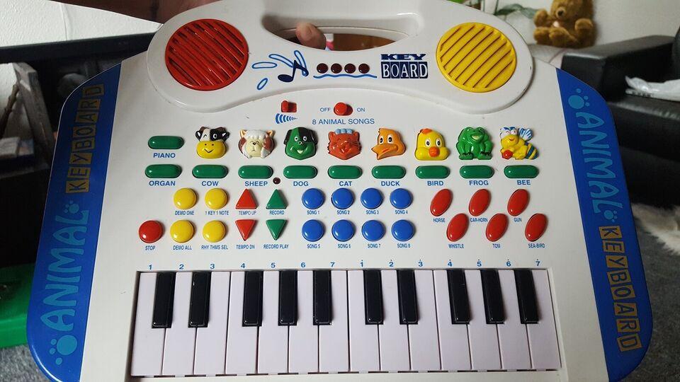 Andet legetøj, Lazer - Disc Music player / piano, musik