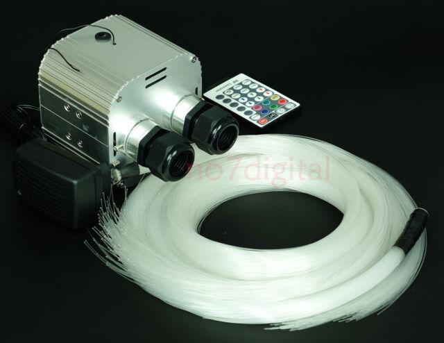 Diy Fiber Optic Lights Kit 600 Le Star Ceiling 3m Pmma Remote Control Rgbw
