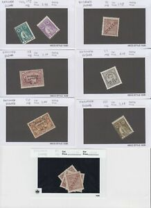 PORTUGAL-PORTUGUESE-GUIANA-14-SALES-CARDS-COLLECTION-LOT-READY-TO-SELL