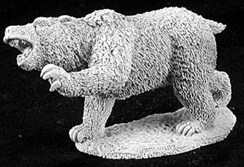 Reaper Miniatures Dire Bear #02878 Dark Heaven Legends Unpainted Metal Figure