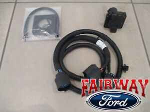 17 thru 21 super duty f250 f350 f450 f550 oem ford in bed trailer wiring  harness | ebay  ebay