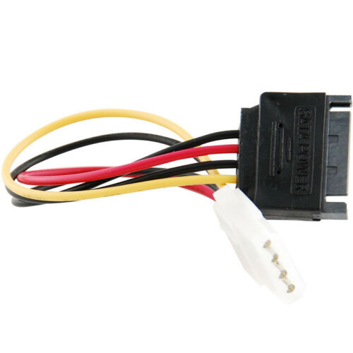 6-Inch Vy SATA Power Female to Molex Male Adapter Converter Cable