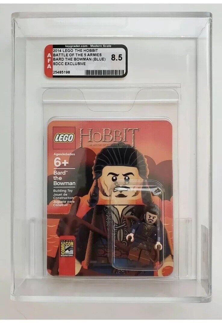 Lego Sdcc 2014 Bardo el arquero (Azul) Mini Figura AFA clasificados 8.5 - Hobbit Lotr