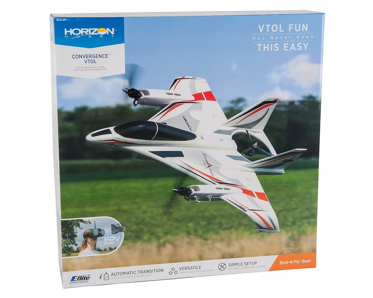 E-flite Eflite Convergence VTOL BNF Bind In Fly Basic RC Airplane EFL11050