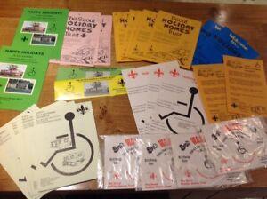 Bundle-of-Vintage-Scout-Leaflets-Scout-Holiday-Homes-Trust