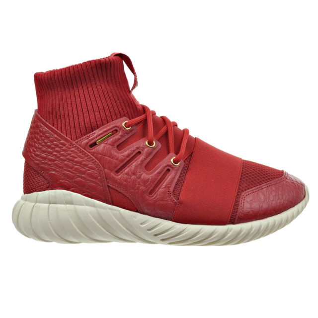77a2529b05b0 Adidas Tubular Doom Chinese New Year Men s Shoes Power Red Gold Metallic  aq2550