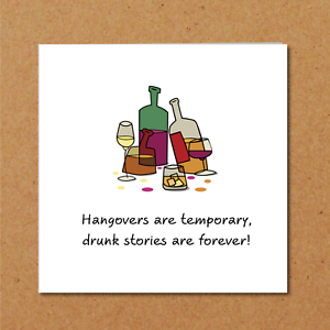 Image Is Loading Wine Drinking Birthday Card Thank You Any Occasion