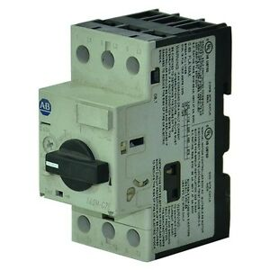 140m C2e A63 Allen Bradley Motor Protection Circuit