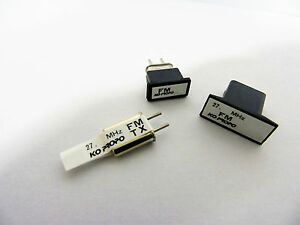 Ko-Propo-27MHz-Paire-de-Cristaux-Xtal-Set-TX-amp-RX-Differents-Frequences-GB