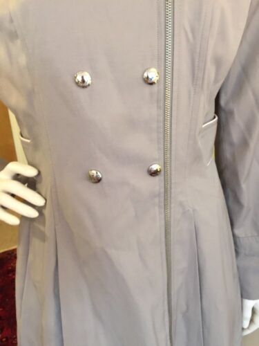 Trench Rain Grey Guess Coat Jacket Taille Rare M E67w1qAqtZ