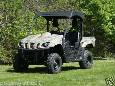 NEW Yamaha Rhino 450 700 2004-13 Black Polyethylene Hard Top Roof 660
