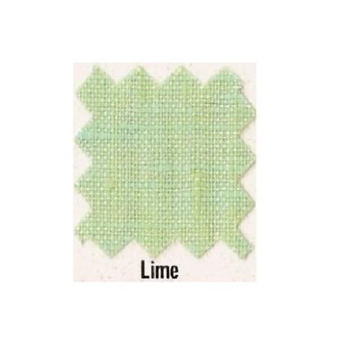 NEW 3 Yds FLAX  EUROPEAN LINEN FABRIC FOR SEWING Lime Green A $90 VALU