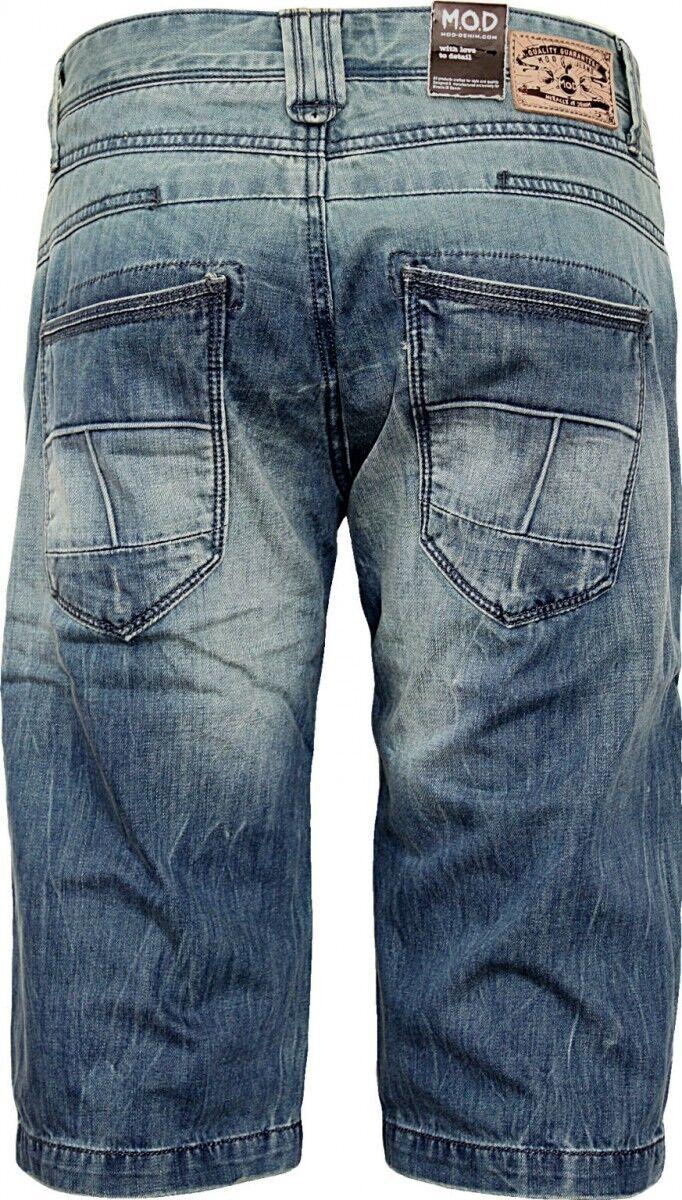 M.O.D Uomo Jeans Shorts Ikko Ikko Ikko antwerp blu 7ea8fc