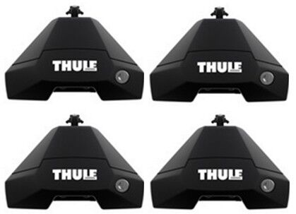 BRAND NEW THULE 7105 EVO FOOT PACK FOOT PACK SET OF 4 FEET WITH LOCKS