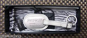 Samsonite-Black-Label-Alexander-McQueen-Key-Chain-Name-Tag-Box-Pouch
