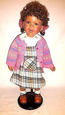 139/777 The Latest Fashion Art Dolls-ooak Tessy Von Melody Chen Oncrown Collection 2005 Porzellan Ca.60cm Nr