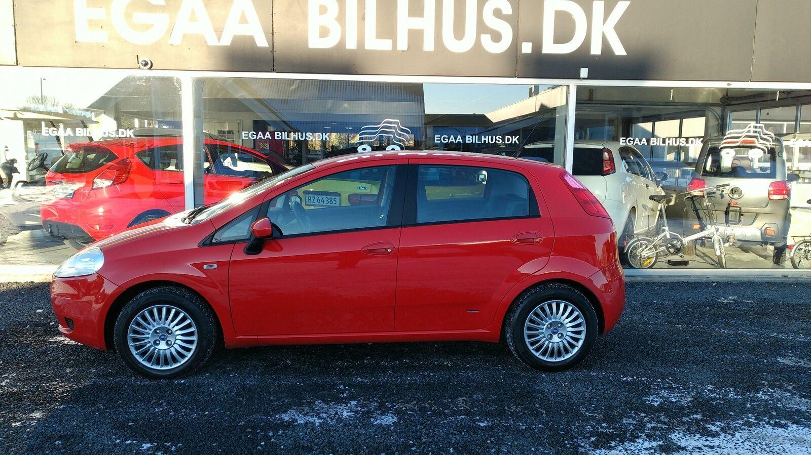 Fiat Grande Punto 1,3 JTD 75 Dynamic 5d - 29.900 kr.