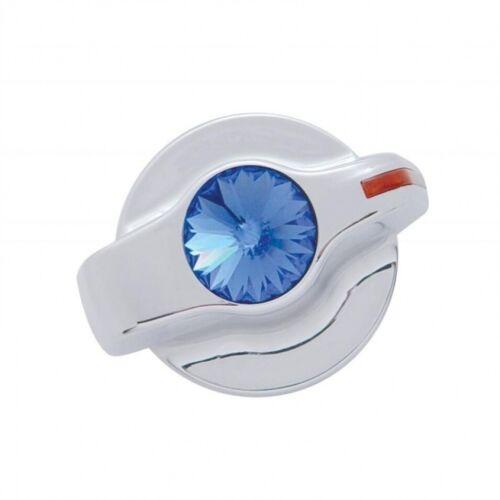 379 389 386 384 A//C Heater Control Knob BLUE DIAMOND Chrome for Peterbilt 2006
